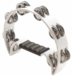 Tambourine - Df102 White - 16 Bels Model